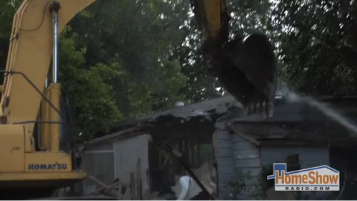 The step-by-step of home demolition