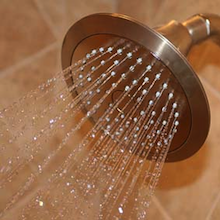 Replace an old shower head