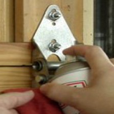 Maintain your garage door