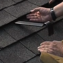 Fix a shingle