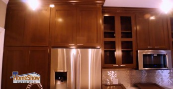 Custom cabinets complete a kitchen