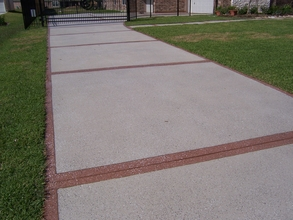 What is the best way to repair a sinking driveway?