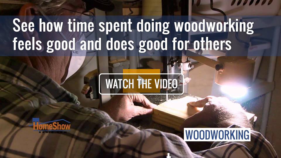 Watch as woodworkers team up to make sure every kid has a Christmas