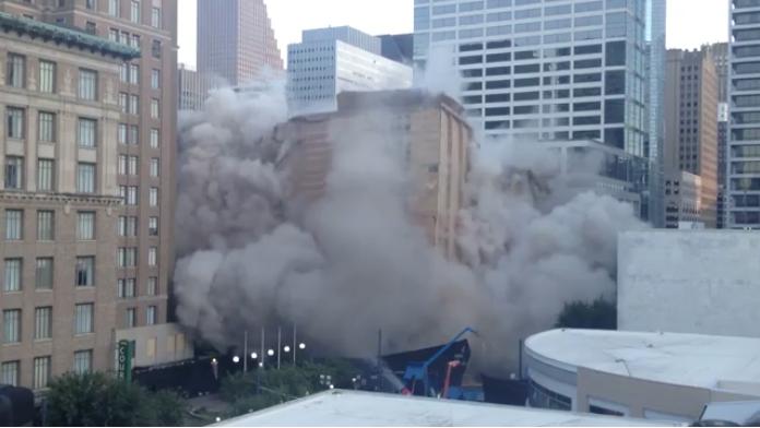 Building implosion starts something big