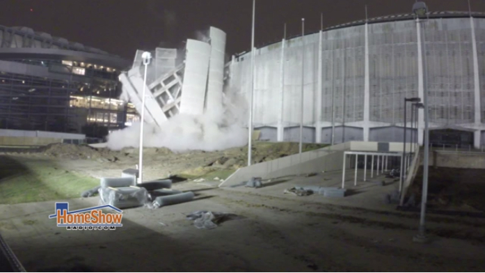 Astrodome demolition's beginning?