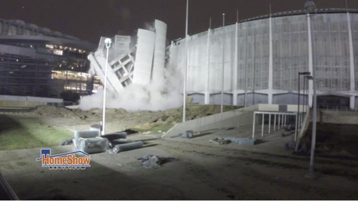 Astrodome demolition's beginning?