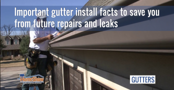 Important gutter install facts to save you from future repairs and leaks