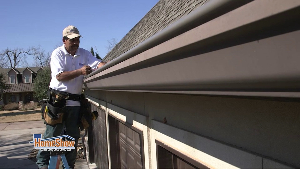 Replacement Gutters Require Pitch