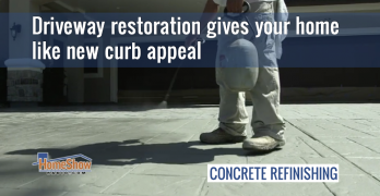 Driveway restoration gives your home like new curb appeal