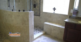 You won't miss a tub after seeing this master bathroom remodel