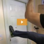Stop door kick in burglary home invasion