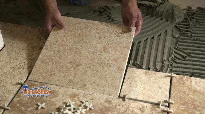 ceramic tile or porcelain tile