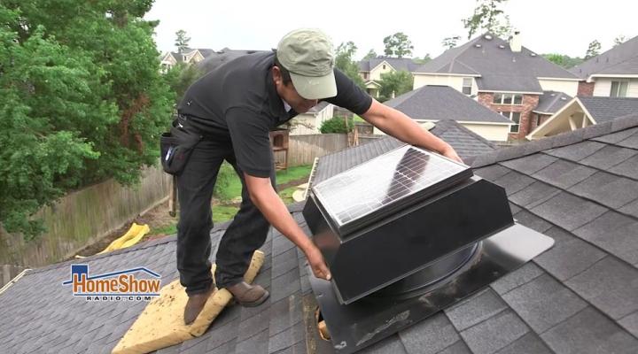 solar attic fans vs ridge vents
