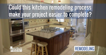Could this kitchen remodeling process make your project easier?