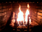 Can you tell me about the cleanliness and safety of old wood and beams for my fireplace and dining rooms?
