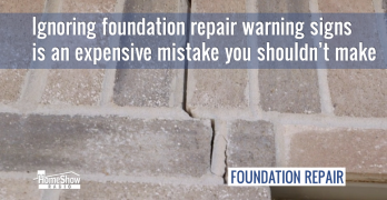 Ignoring foundation repair warning signs is an expensive mistake