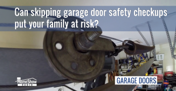 Can skipping garage door safety checkups put your family at risk?