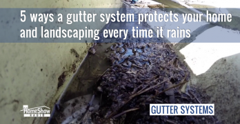 5 ways a gutter system protects your home every time it rains