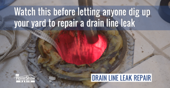 Cured in place pipe repair means no trench drain line repair