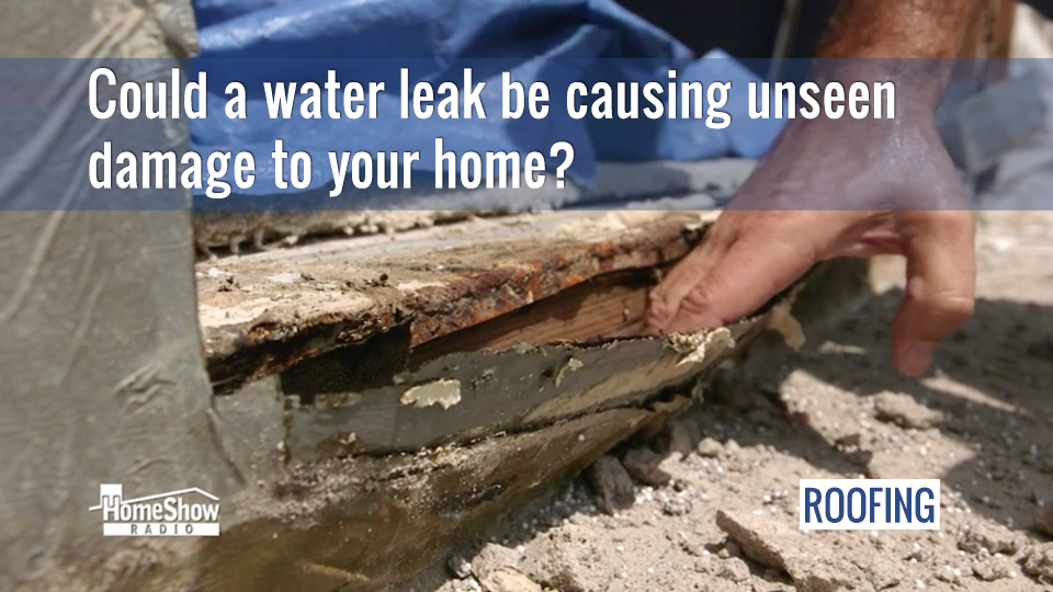 Surprising solution to a problem balcony is flat roof leak repair