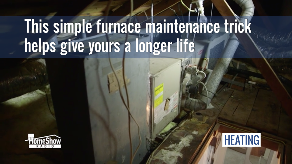 Furnace maintenance saves money