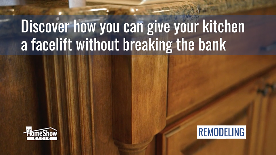 Discover how you can give your kitchen a facelift without breaking the bank