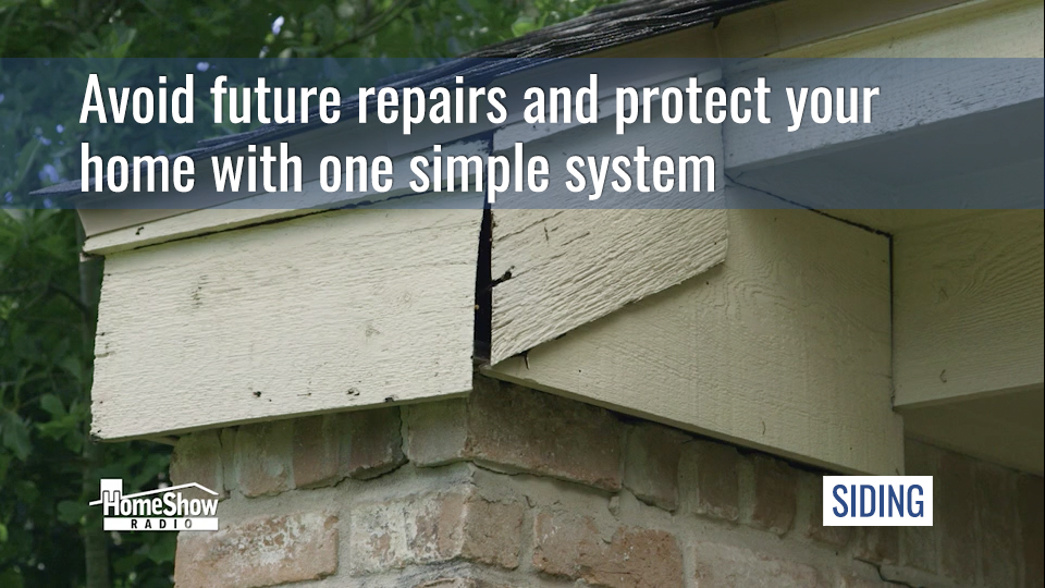 Replacement siding is one choice that gives you three benefits