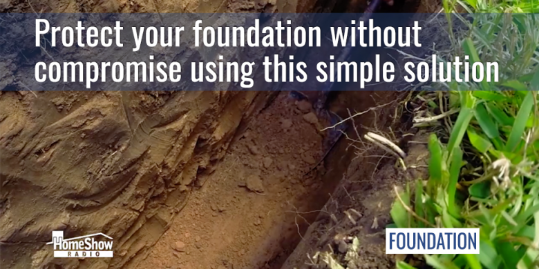 Protect your foundation without compromise using a root barrier