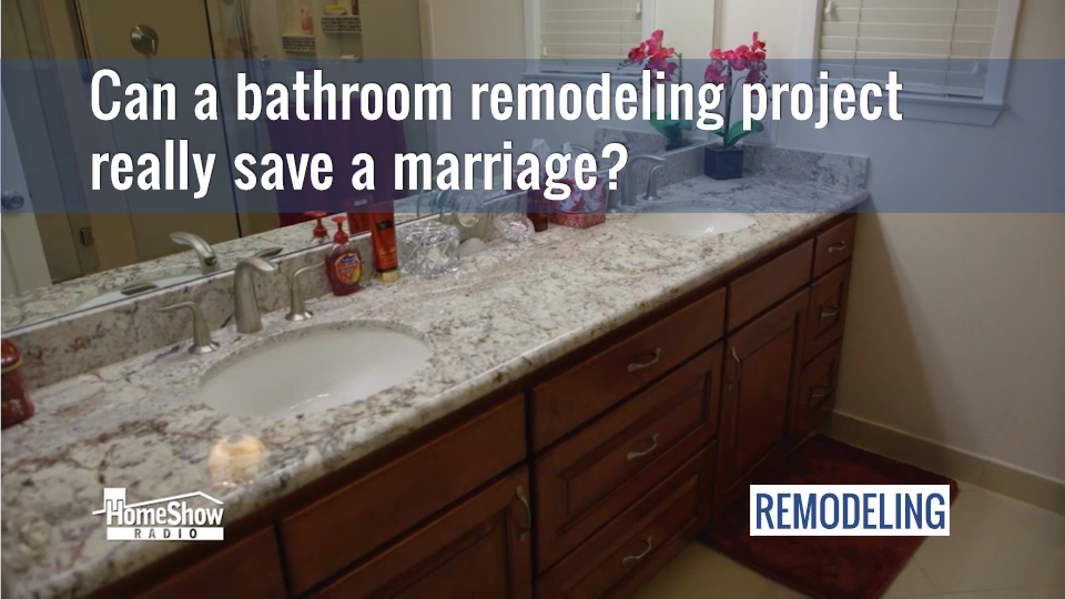 Ten tips for a marriage-friendly bathroom remodel project