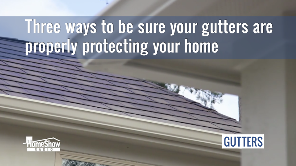 You'd be surprised how much there is to know about gutters