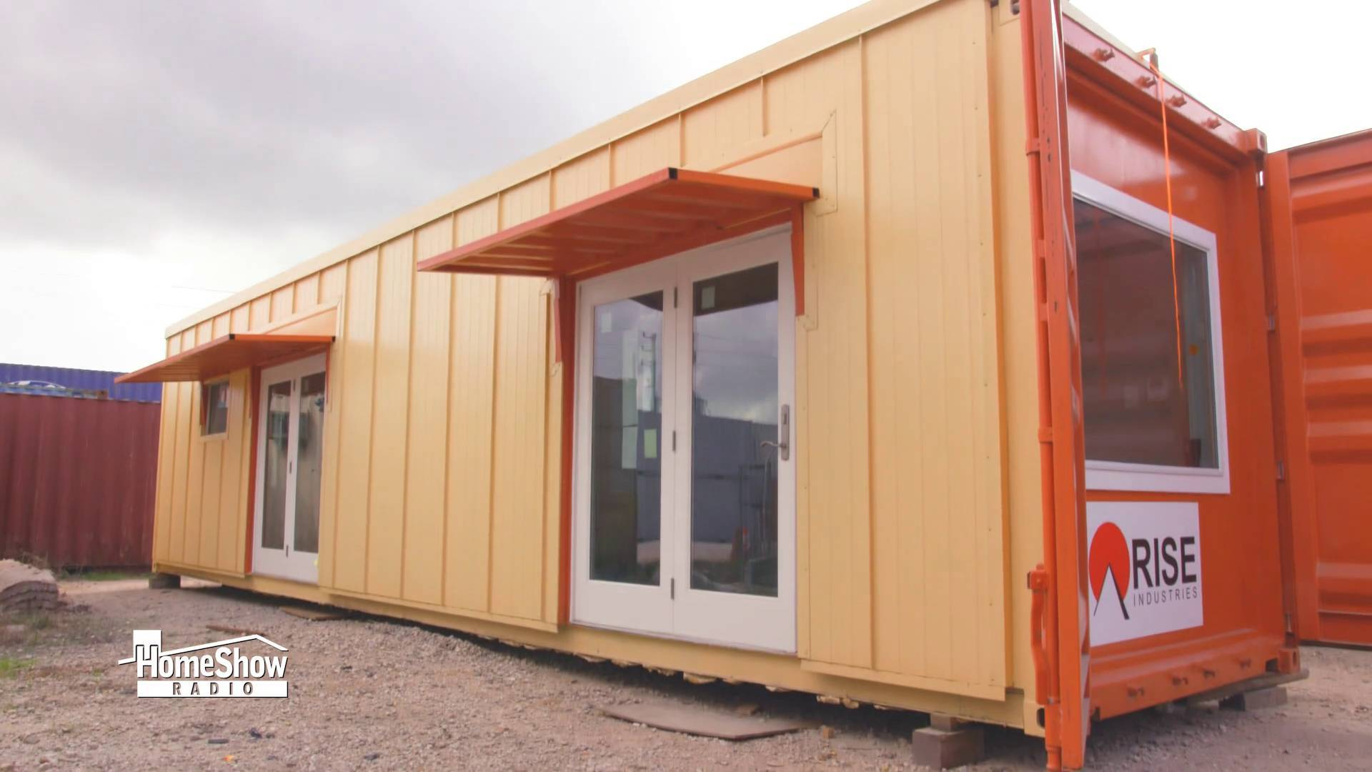 Video Shipping Container Homes Converted Into Eco