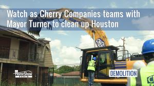 Cherry Companies demolishes Crestmont Village Apartments