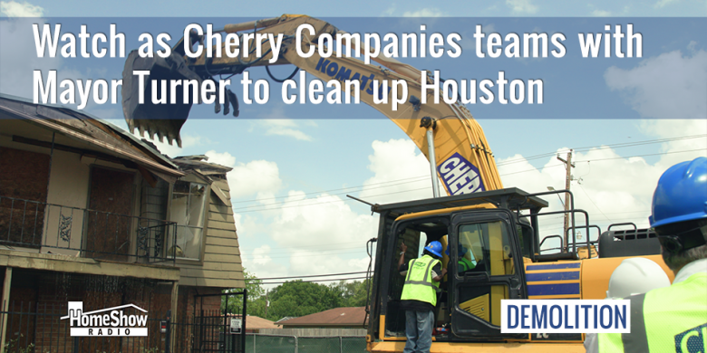 Cherry cleans up Houston, tearing down Crestmont Village Apartments