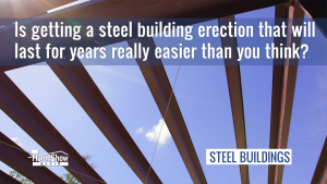 custom steel building construction