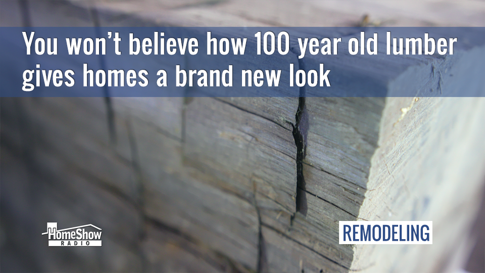 Reclaimed lumber lets you give old wood a new life in your home