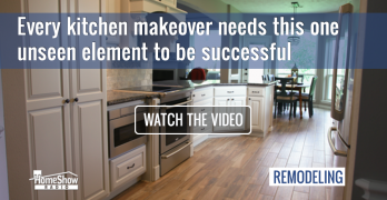 Every successful kitchen makeover is the result of this unseen element