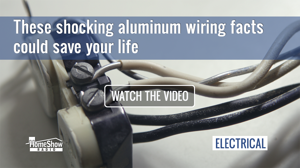 aluminum wiring dangers