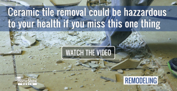 How can Ceramic tile removal really be hazardous to your health?