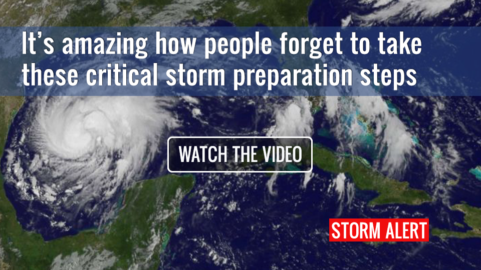 How ready are you for a hurricane tropical storm?