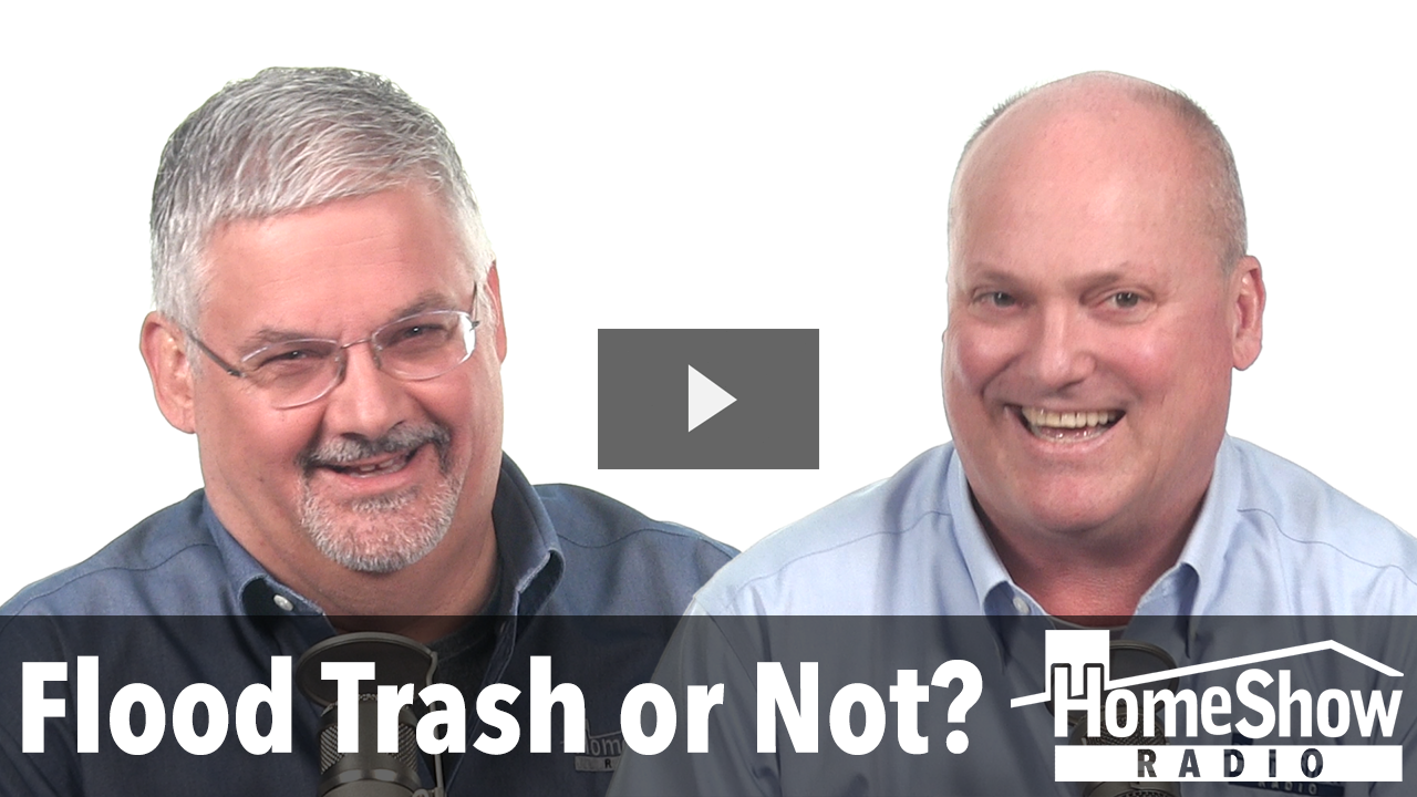 Flood Trash Does It All Really Need To Be Thrown Out Video