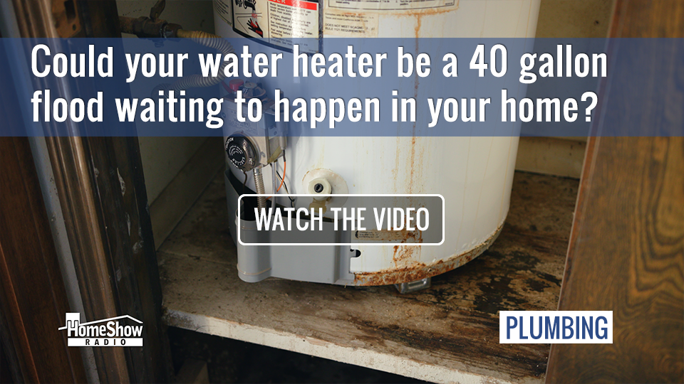 A Water Heater Leak Can Cause a 40 Gallon Flood Without Notice