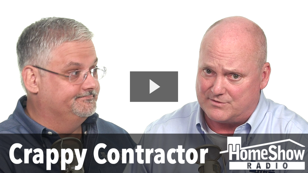 What risk is there in firing a contractor mid-job?