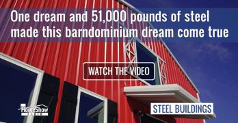 steel building barndominium