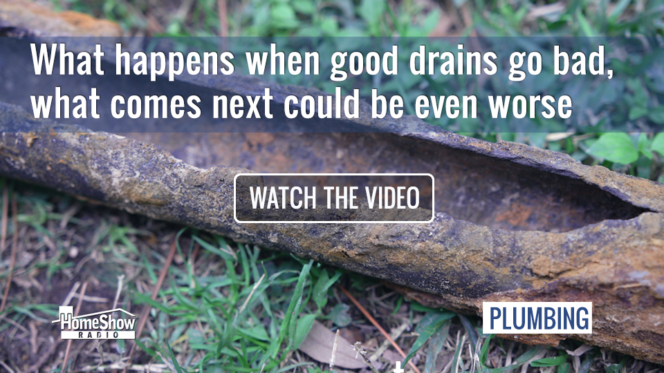 When good drains go bad, sewer leak repair could be your solution