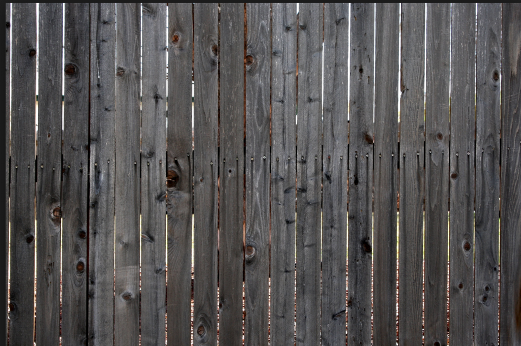 Wood Fence Power Wash Painting Or Staining To Freshen Up