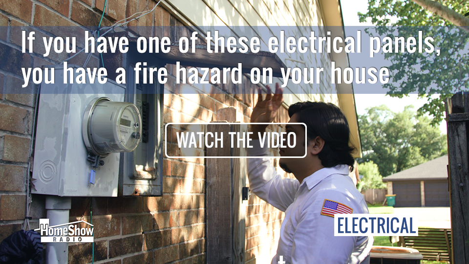 An unsafe electrical panel puts your home in danger