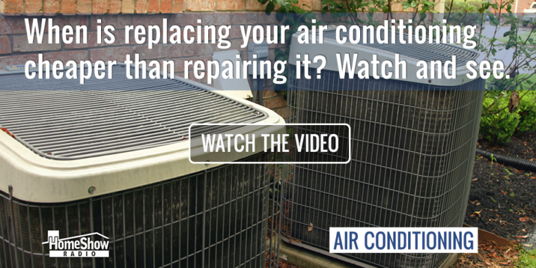 Air Conditioning Replacement can easily be more affordable than repairs