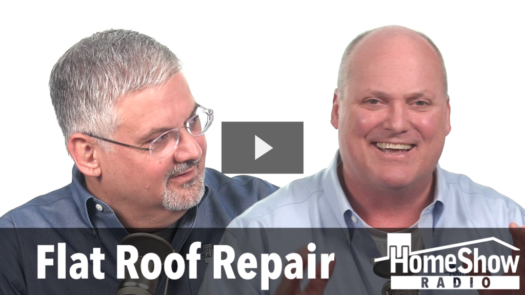 What are your recommended flat roof repair options?