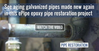 epoxy pipe restoration