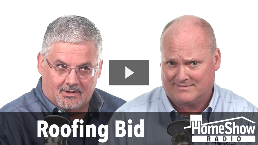 What's your advice on unsolicited contractor bids?